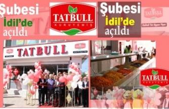 TATBULL Kuruyemiş İdiL'de açıldı