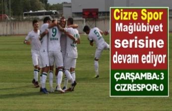 Cizre Spor lig'te ikinci mağlubiyetini aldı.