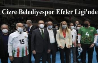 Cizre Belediyespor Efeler Ligi'nde