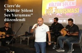 """""""Kültür Şöleni Ses Yarışması"""" düzenlendi"""
