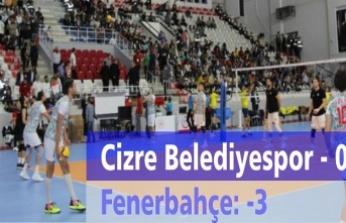 Cizre Belediyespor-0 Fenerbahçe HDI Sigorta-3