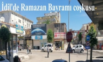 İdil'de Ramazan Bayramı coşkusu