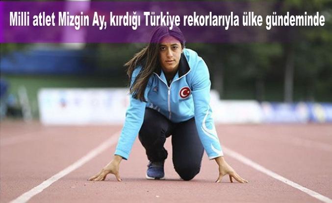Milli atletMizgin Ay, kırdığı Türkiye rekorlarıyla ülke gündeminde