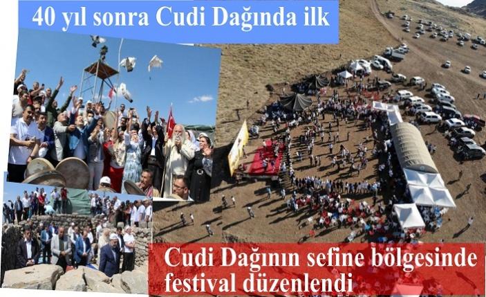 Cudi Dağında ilk festival düzenlendi