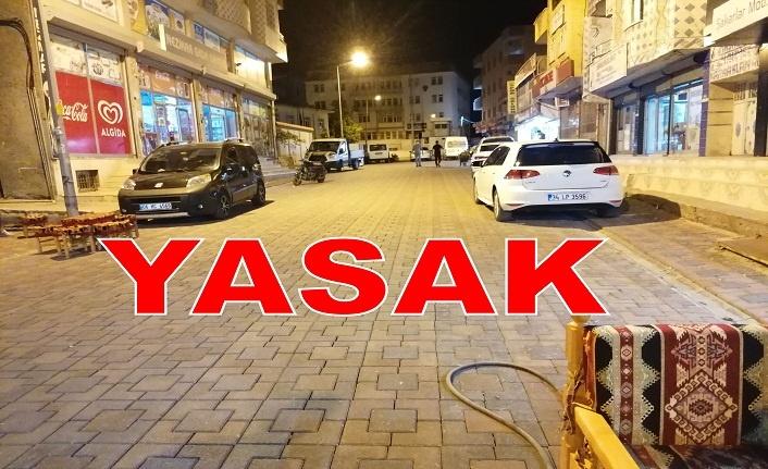 Sanat sokağında araç park etmek yasak